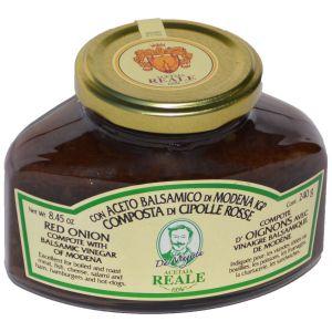 Composta di Cipolle Rosse con Aceto Balsamico