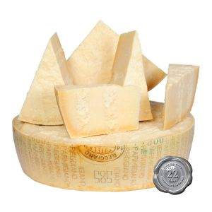 Mountain Parmigiano-Reggiano cheese aged 24 months