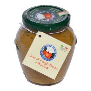 Porcini and prataioli mushroom sauce